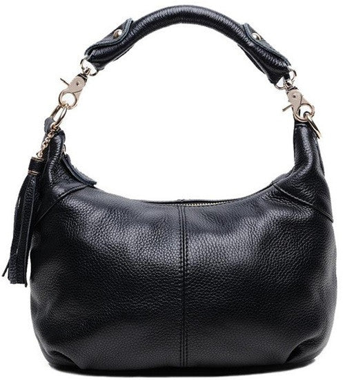 Genuine Leather Shoulder Bag - Belle Valoure - 6