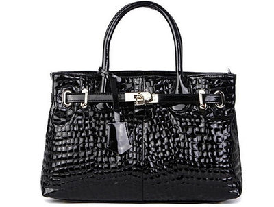 Genuine Leather Handbags - Belle Valoure - 5