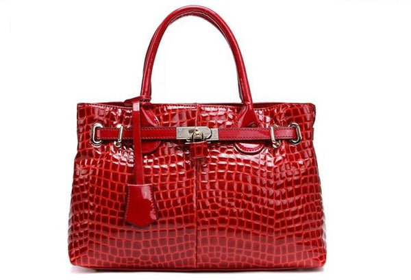 Genuine Leather Handbags - Belle Valoure - 1