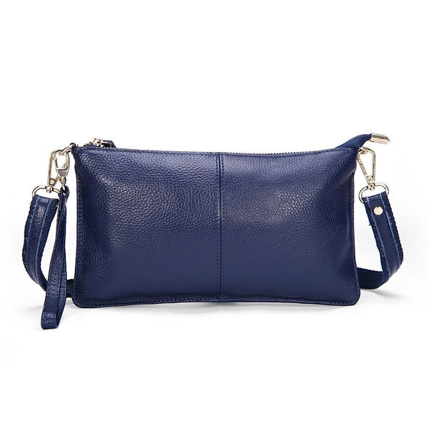 Genuine Leather Envelope Clutch - Belle Valoure - 7