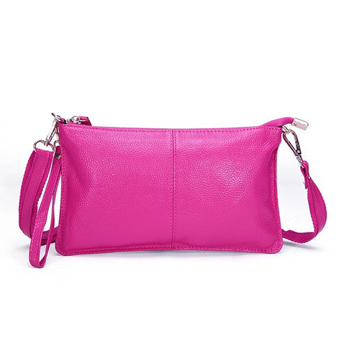 Genuine Leather Envelope Clutch - Belle Valoure - 9