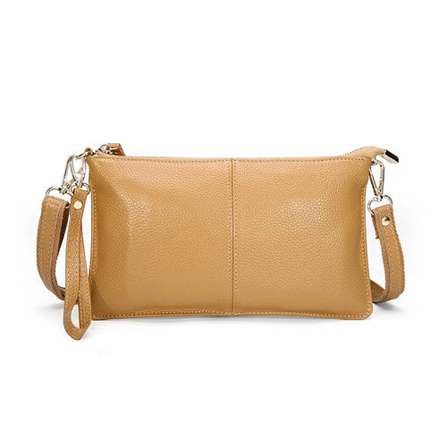 Genuine Leather Envelope Clutch - Belle Valoure - 8