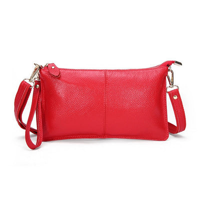 Genuine Leather Envelope Clutch - Belle Valoure - 4
