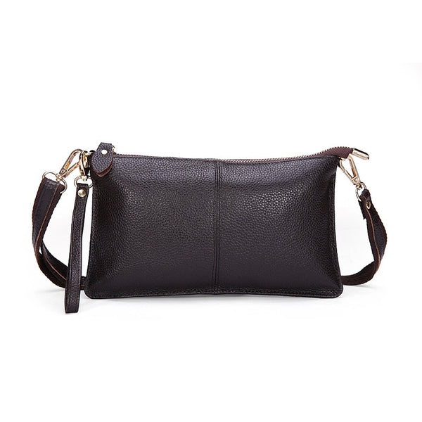 Genuine Leather Envelope Clutch - Belle Valoure - 2