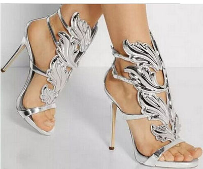 Lux Gladiator Sandals - Belle Valoure - 4