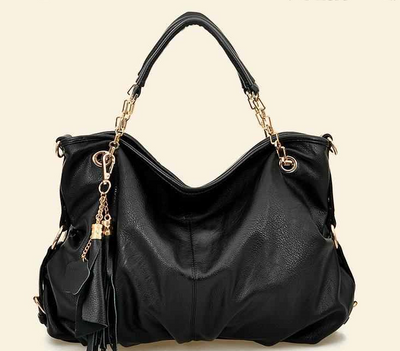 A.L. Soft Leather Tote - Belle Valoure