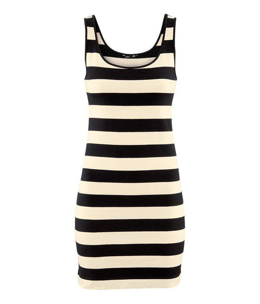 Aline Striped Dress - Belle Valoure