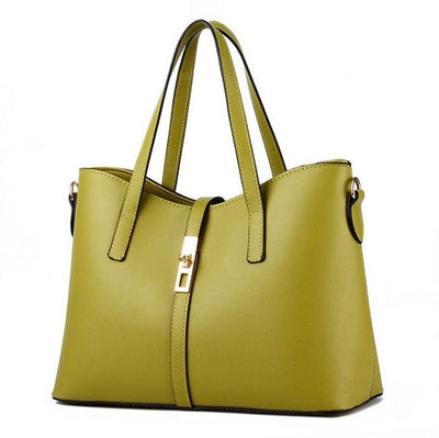 Olivia Leather Tote - Belle Valoure - 15