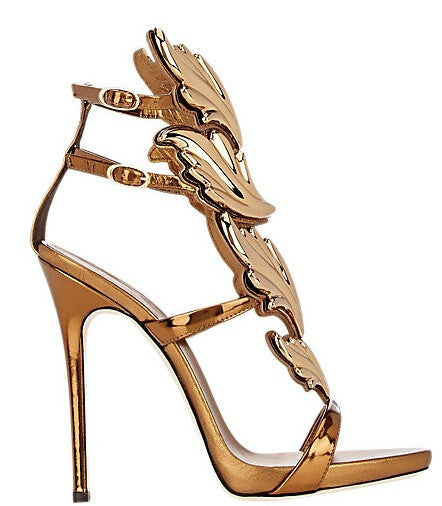 Lux Gladiator Sandals - Belle Valoure - 8