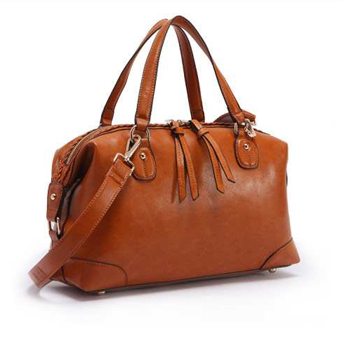 Alicia Leather Tote - Belle Valoure