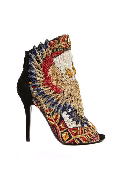Tamaran Embroidered Boots - Belle Valoure - 2
