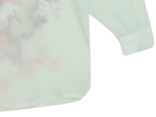 Aiyana Floral Print Top - Belle Valoure