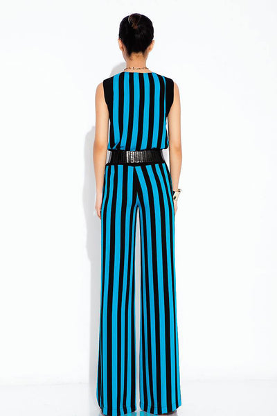 Anevay Striped Two Piece Jumpsuit - Belle Valoure