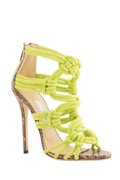 Lora Knotted Sandals - Belle Valoure - 1