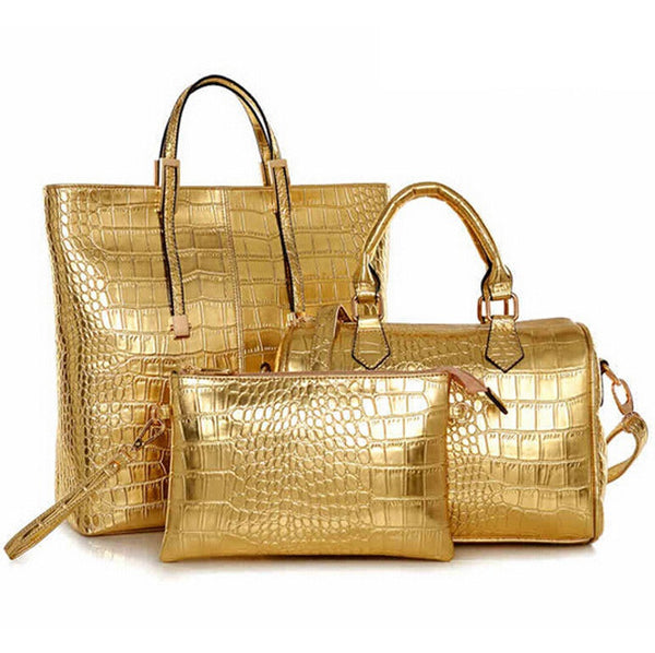 Lux 3Pc Tote Set - Belle Valoure - 15