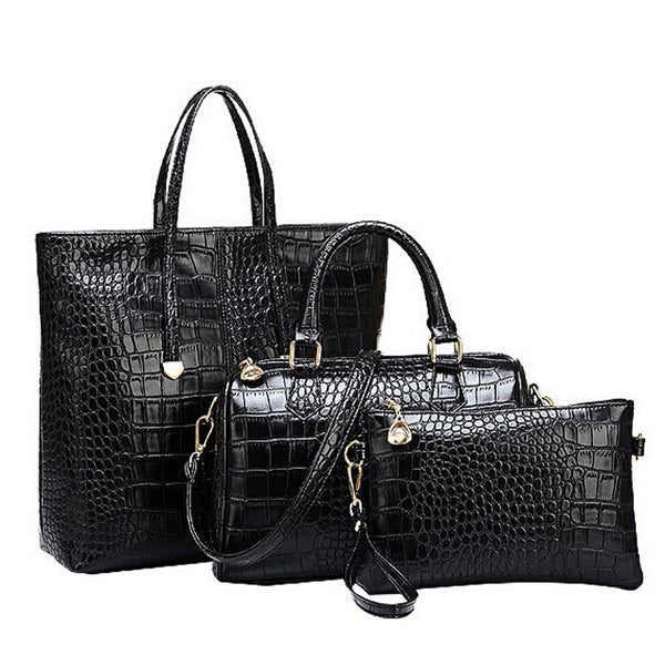 Lux 3Pc Tote Set - Belle Valoure - 14