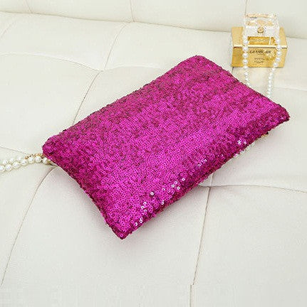 Sequin Clutch - Belle Valoure - 6
