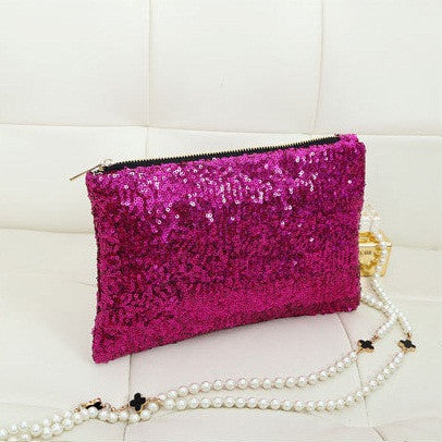 Sequin Clutch - Belle Valoure - 8