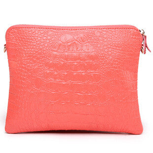Mila Genuine Leather Crocodile Shoulder Bag - Belle Valoure - 12