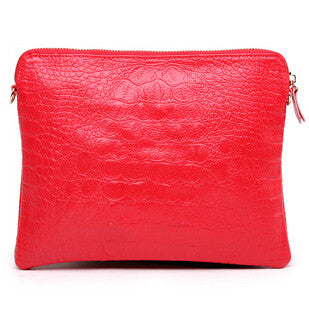 Mila Genuine Leather Crocodile Shoulder Bag - Belle Valoure - 11
