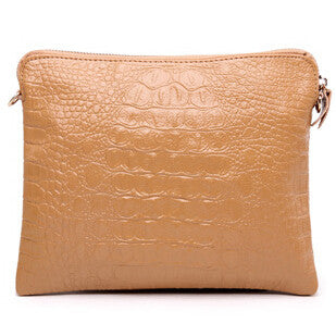 Mila Genuine Leather Crocodile Shoulder Bag - Belle Valoure - 5