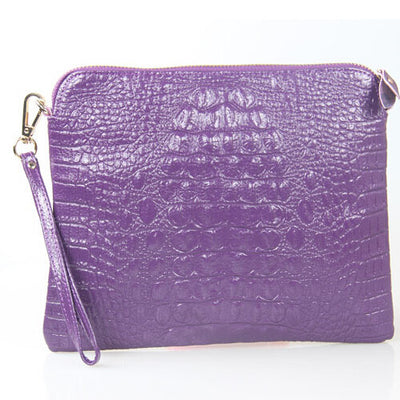 Mila Genuine Leather Crocodile Shoulder Bag - Belle Valoure - 16