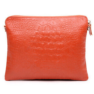 Mila Genuine Leather Crocodile Shoulder Bag - Belle Valoure - 7