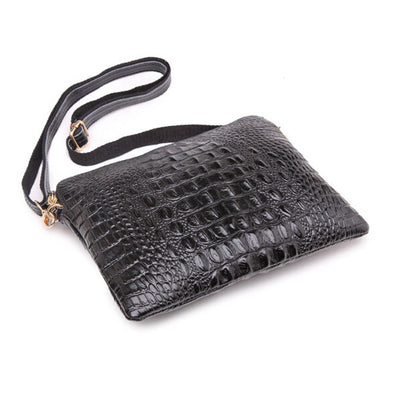 Mila Genuine Leather Crocodile Shoulder Bag - Belle Valoure - 6