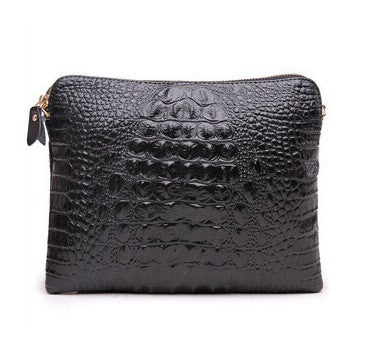 Mila Genuine Leather Crocodile Shoulder Bag - Belle Valoure - 17