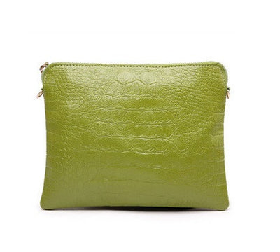 Mila Genuine Leather Crocodile Shoulder Bag - Belle Valoure - 18