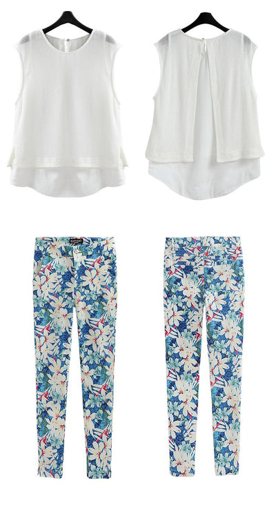 Mia Print Flora Set - Belle Valoure - 6