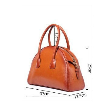 Ember Genuine Leather Handbag - Belle Valoure - 8