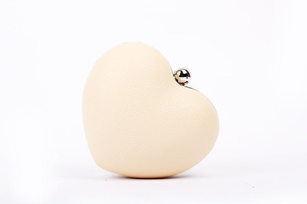 Rivet Heartshaped Clutch - Belle Valoure - 3