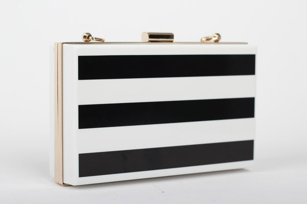 Striped Clutch - Belle Valoure - 2