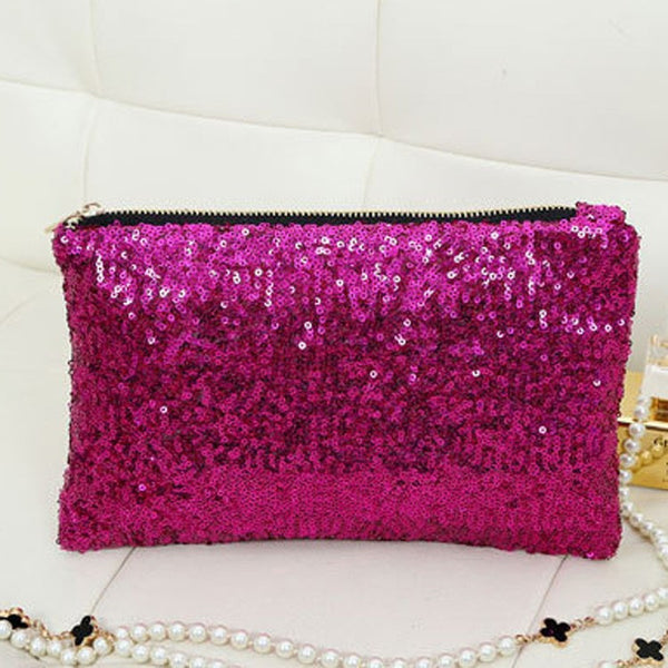 Sequin Clutch - Belle Valoure - 3