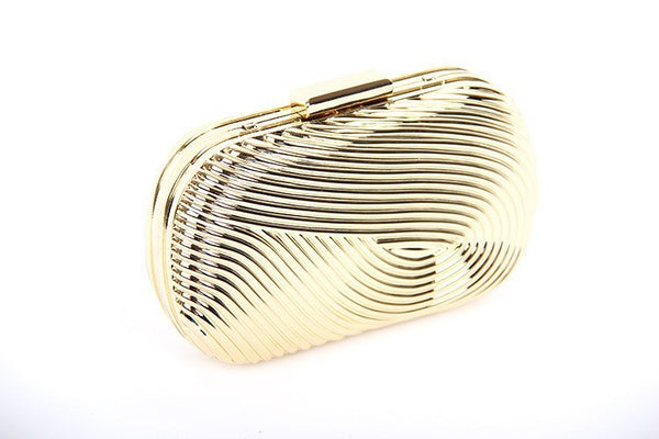 Metal Clutch - Belle Valoure - 4
