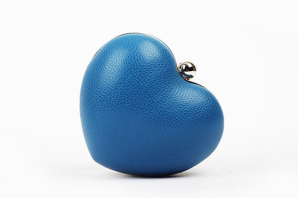 Rivet Heartshaped Clutch - Belle Valoure - 9
