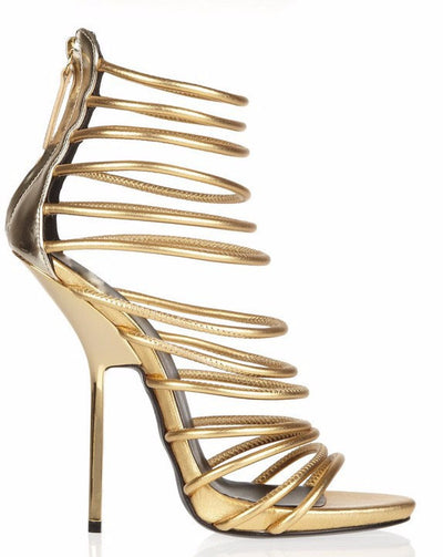 Lux Gladiator Sandals - Belle Valoure - 1