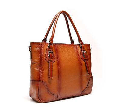 Ember Genuine Leather Handbag - Belle Valoure - 3