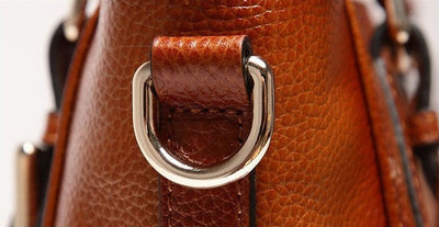 Ember Genuine Leather Handbag - Belle Valoure - 6