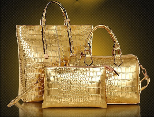 Lux 3Pc Tote Set - Belle Valoure - 1