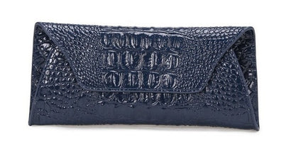 Genuine Leather Alligator Clutch - Belle Valoure - 11