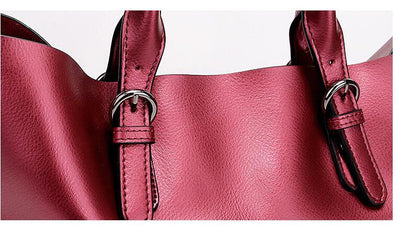Olivia Genuine Leather Shoulder Bag - Belle Valoure - 2