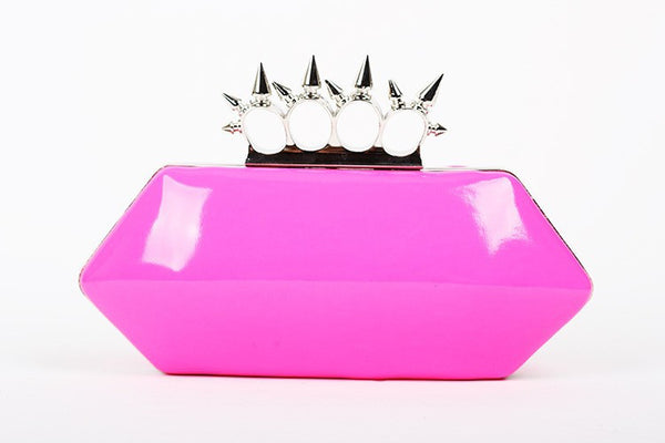 Candy Neon Clutch - Belle Valoure - 9