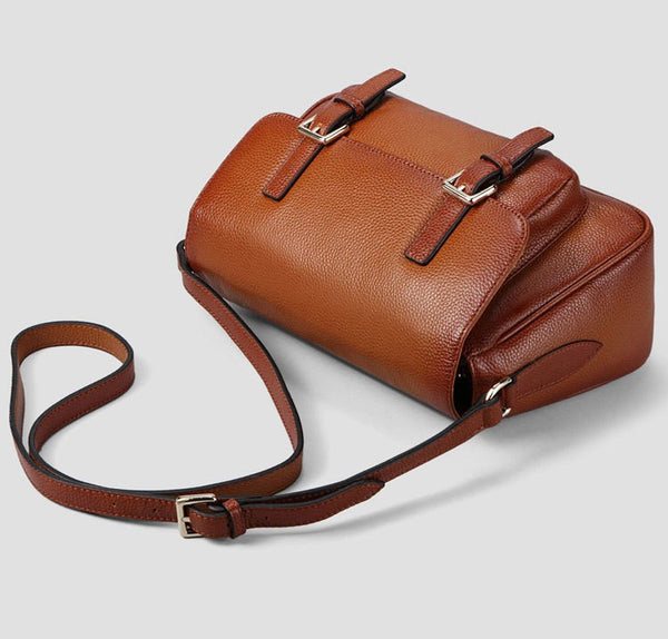 Ember Genuine Leather Handbag - Belle Valoure - 5
