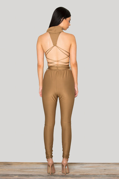 Tamarin Wrapped Jumpsuit - Belle Valoure - 6