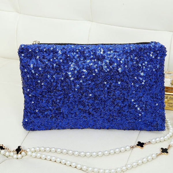 Sequin Clutch - Belle Valoure - 7