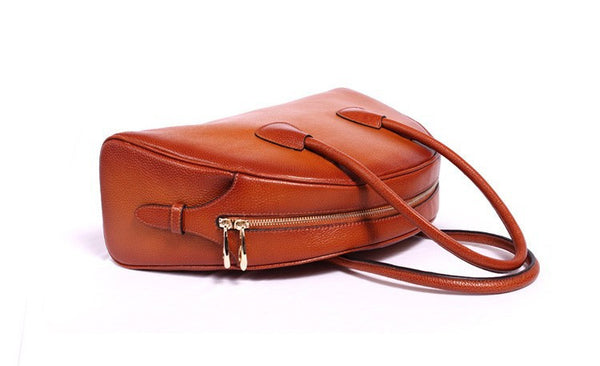 Ember Genuine Leather Handbag - Belle Valoure - 4