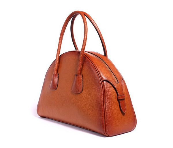 Ember Genuine Leather Handbag - Belle Valoure - 2