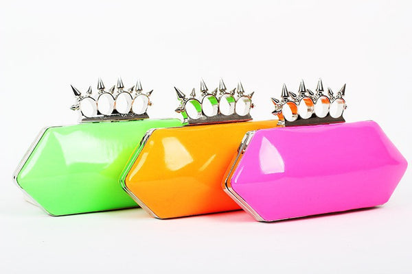 Candy Neon Clutch - Belle Valoure - 6